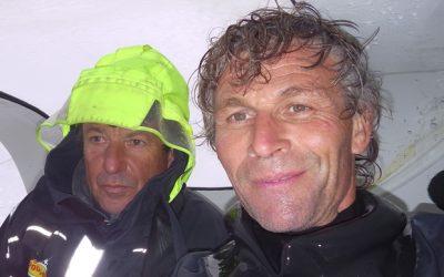 Race leaders Cheminées Poujoulat round the legendary Cape Horn