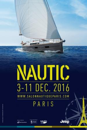 nke at Nautic boat show 2016 – Paris