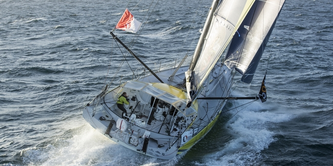 nke autopilot: article and interview in Sailing World