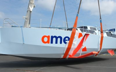AmerX40 : cruise ship with foils