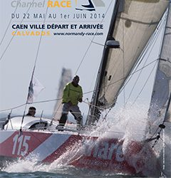 Partnership with Normandy Channel Race 2014