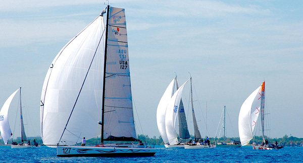 Dragon (Class40) just won the Miami to Havana Race